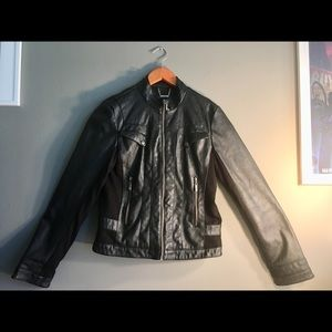 💙2 for $20💙a.n.a Faux Leather Black Jacket